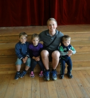 Stefans Brūvelis ar Snēpeles bērniem