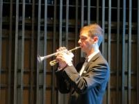 Trompetists Benjamiņš Aļļe. Foto: Silvija Kļaviņa-Barshney