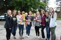 Komandas meitenes ar māmiņām Jaunpilī